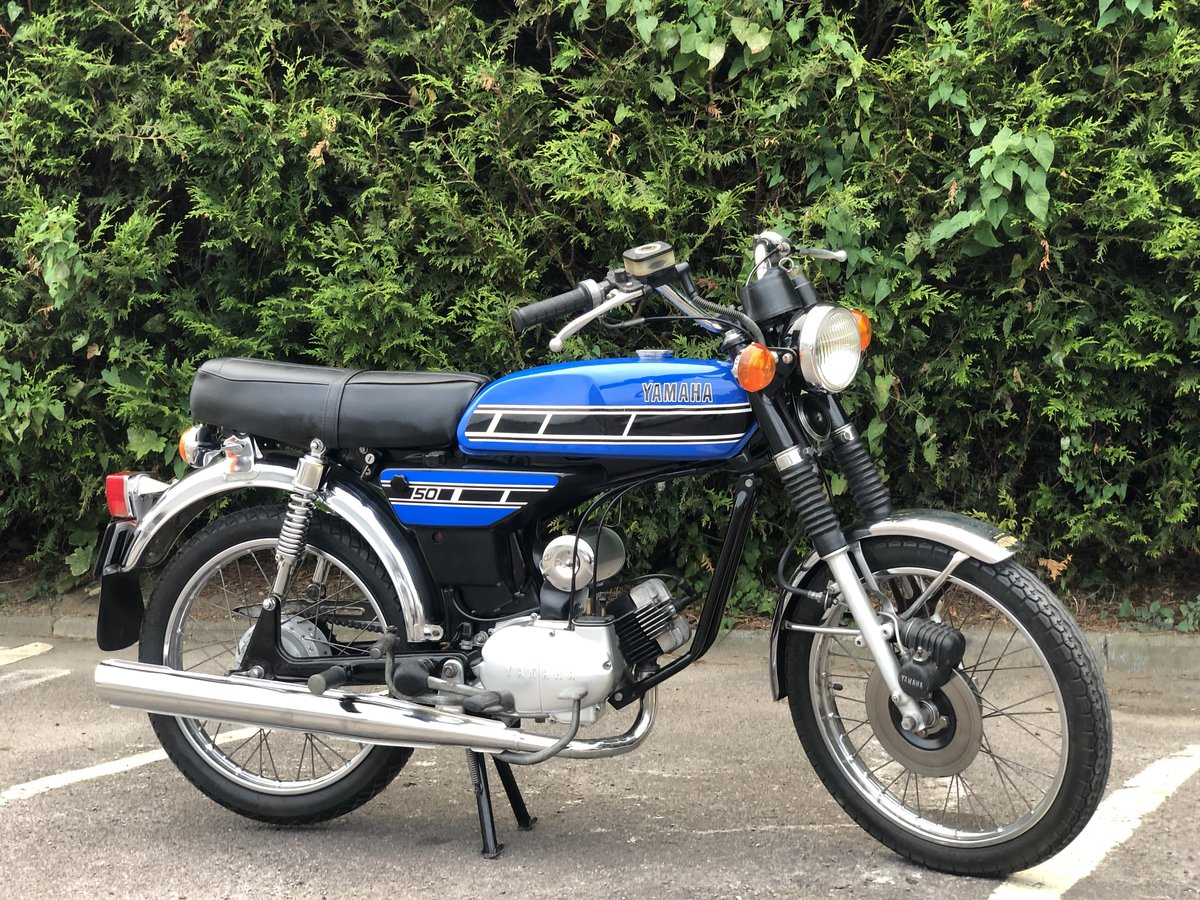 Yamaha FS1E 1975 49cc With matching engine and frame numbers For Sale (picture 1 of 6)