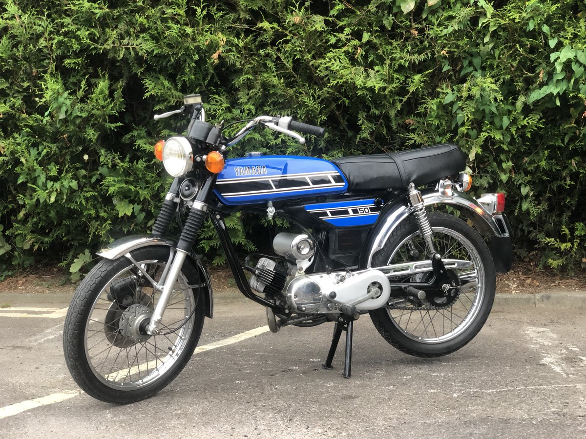 Yamaha FS1E 1975 49cc With matching engine and frame numbers For Sale (picture 2 of 6)