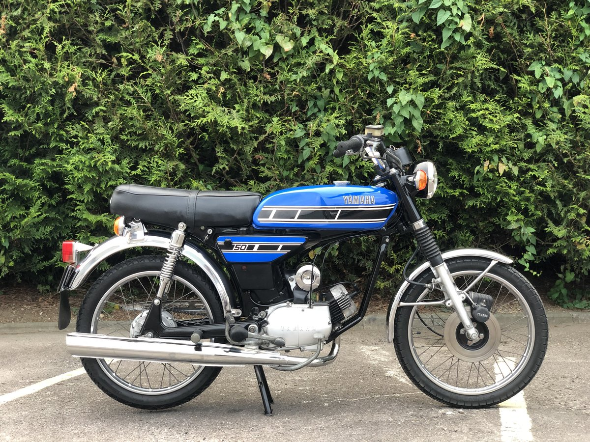 Yamaha FS1E 1975 49cc With matching engine and frame numbers For Sale (picture 3 of 6)