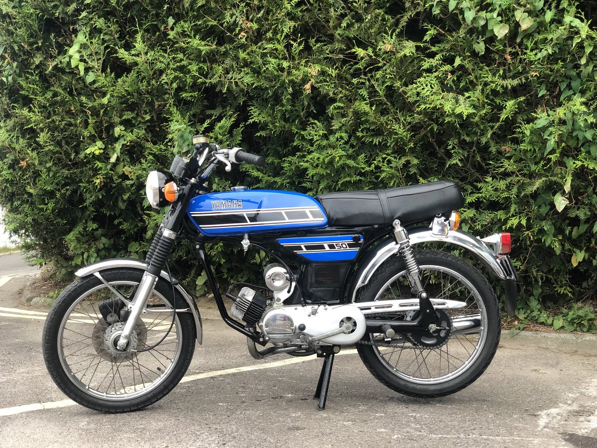 Yamaha FS1E 1975 49cc With matching engine and frame numbers For Sale (picture 4 of 6)
