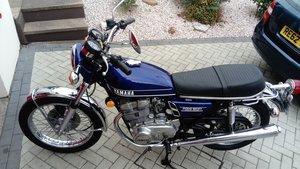 1973 Yamaha TX500 -like XS500 XS650 Mot/Tax Exempt For Sale