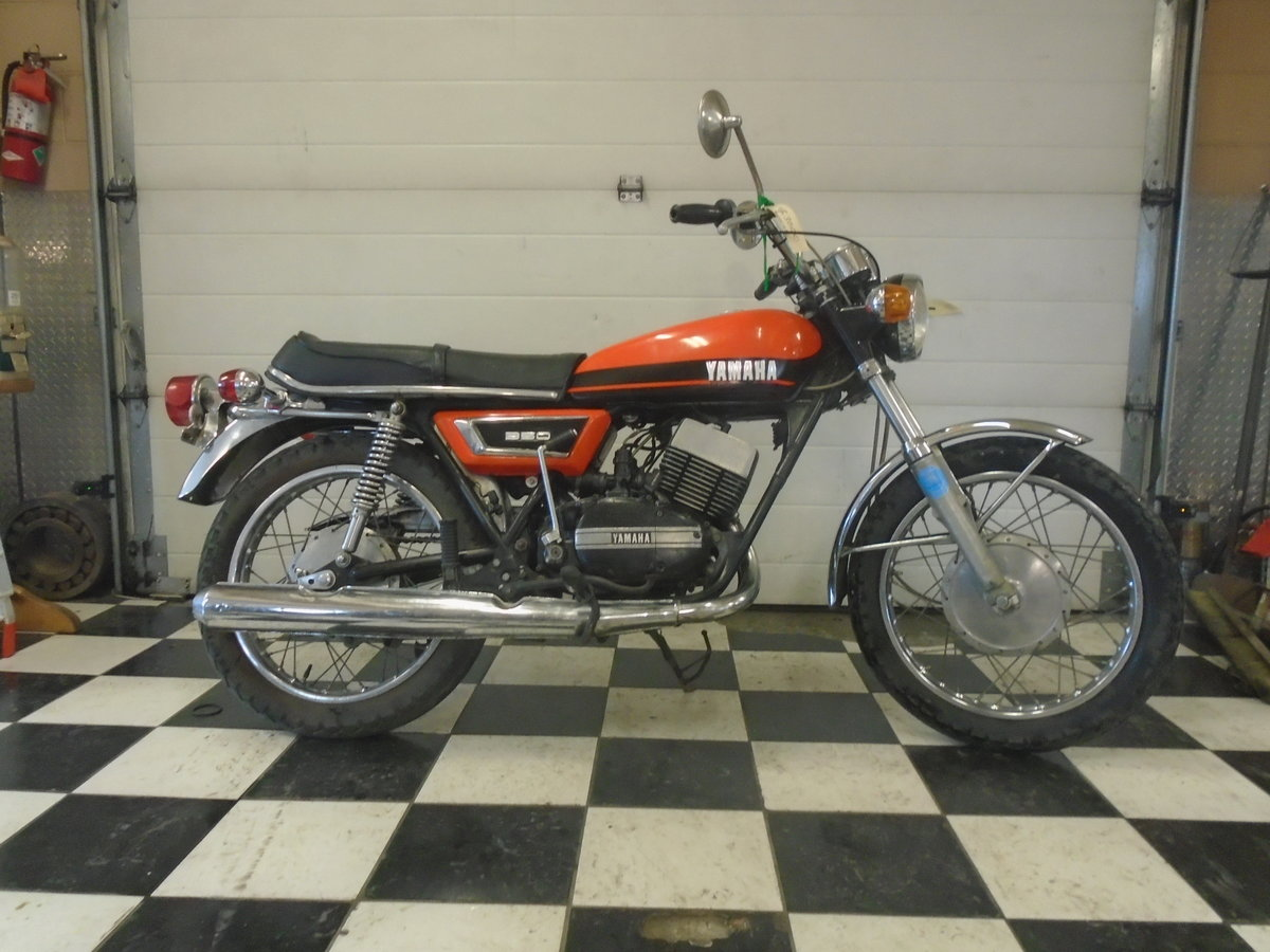 1971 Yamaha R5 350 Running Project Bike For Sale (picture 1 of 4)
