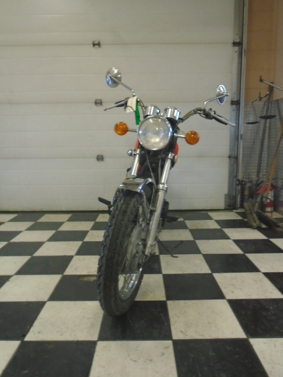1971 Yamaha R5 350 Running Project Bike For Sale (picture 3 of 4)