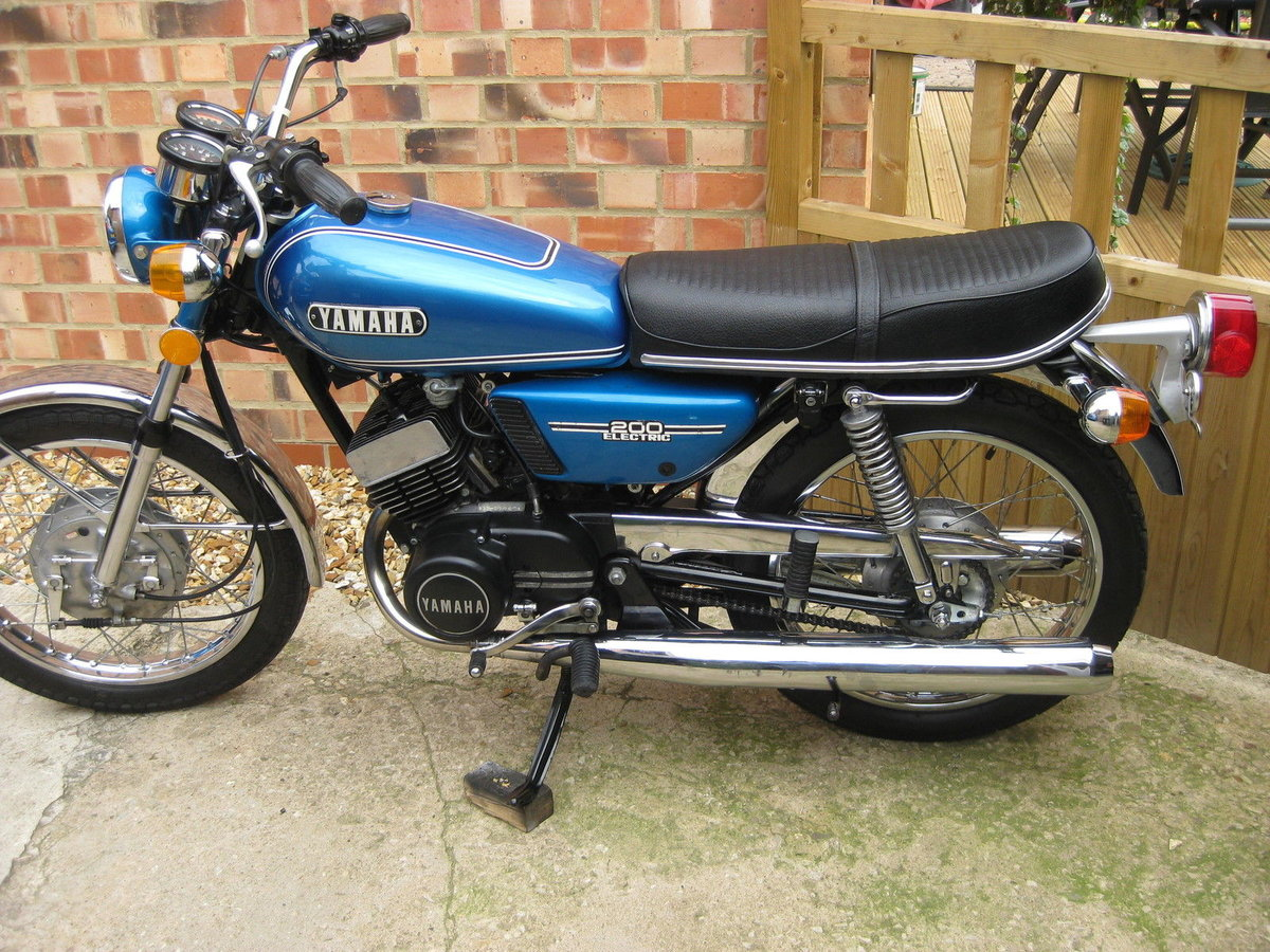 1973 Yamaha RD 200 Electric - Lovely condition For Sale (picture 1 of 6)