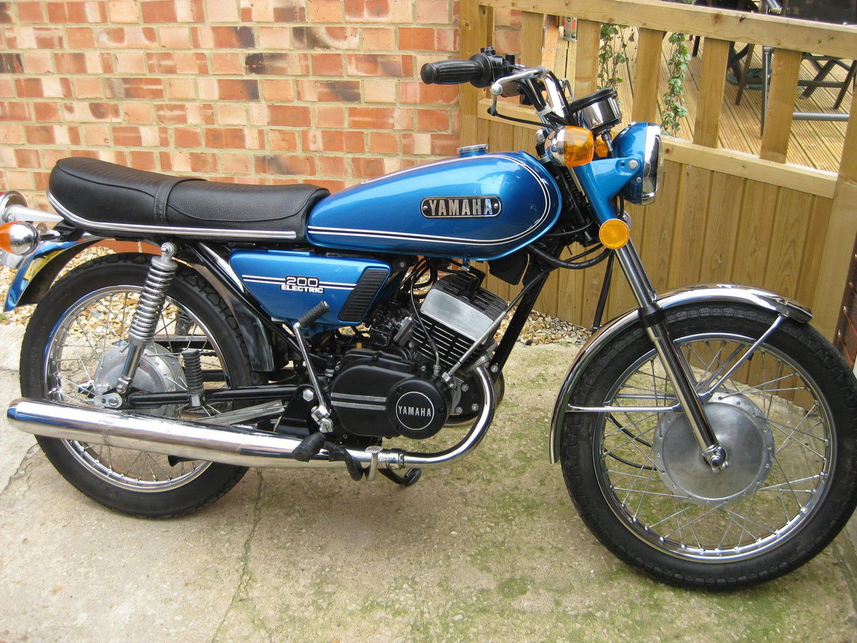 1973 Yamaha RD 200 Electric - Lovely condition For Sale (picture 3 of 6)