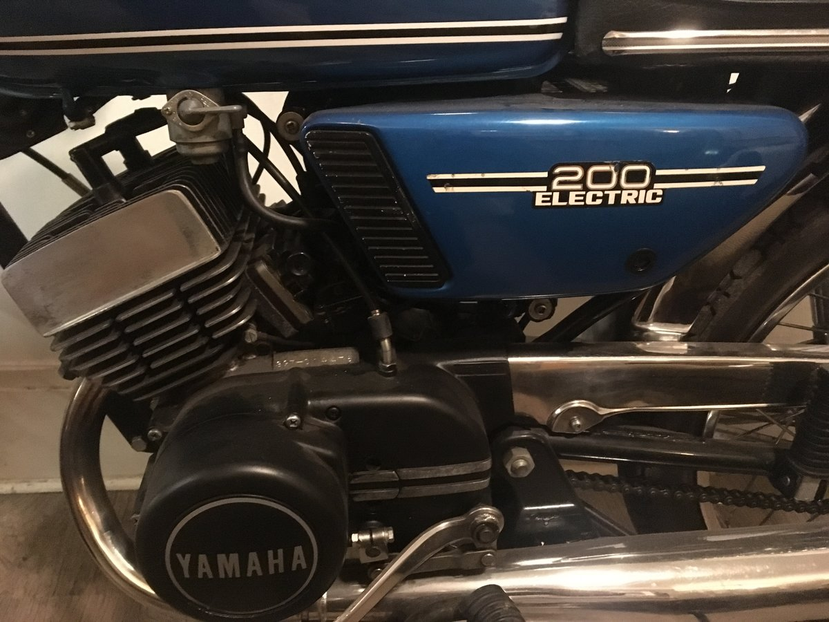 1973 Yamaha RD 200 Electric - Lovely condition For Sale (picture 6 of 6)