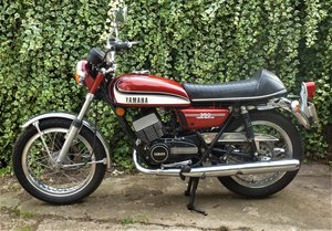 1975 Yamaha RD350 classic UK bike For Sale