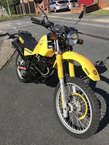 1982 Yamaha XT550 Uk bike
