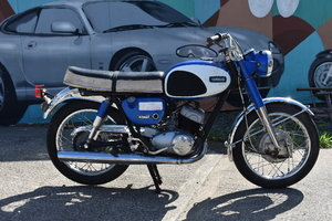 A 1967 Yamaha YDS3, in original condition 05/10/2019 SOLD by Auction