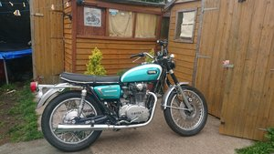 1972 Yamaha xs650 matching engine & frame numbers