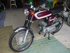 1975 Yamaha FS1E - Popsicle Purple For Sale