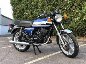 Yamaha RD 400 C 1976 In Blue With Matching Numbers For Sale