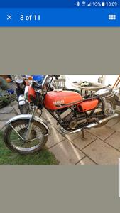 1974 Yamaha RD350 RD350B