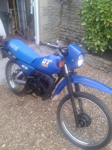 1991 Yamaha DT50MX Moped