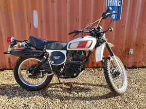 1978 Yamaha XT500, 497 cc.  For Sale by Auction