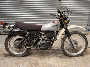 1981 Yamaha XT500 For Sale by Auction