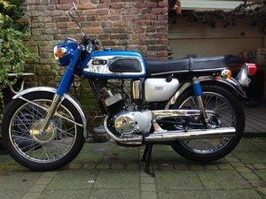 1970 Yamaha AS1 2-stroke 125 cc