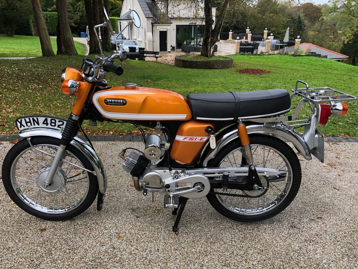 1973 FS1E Superb restored UK matching number bike SOLD (picture 2 of 6)