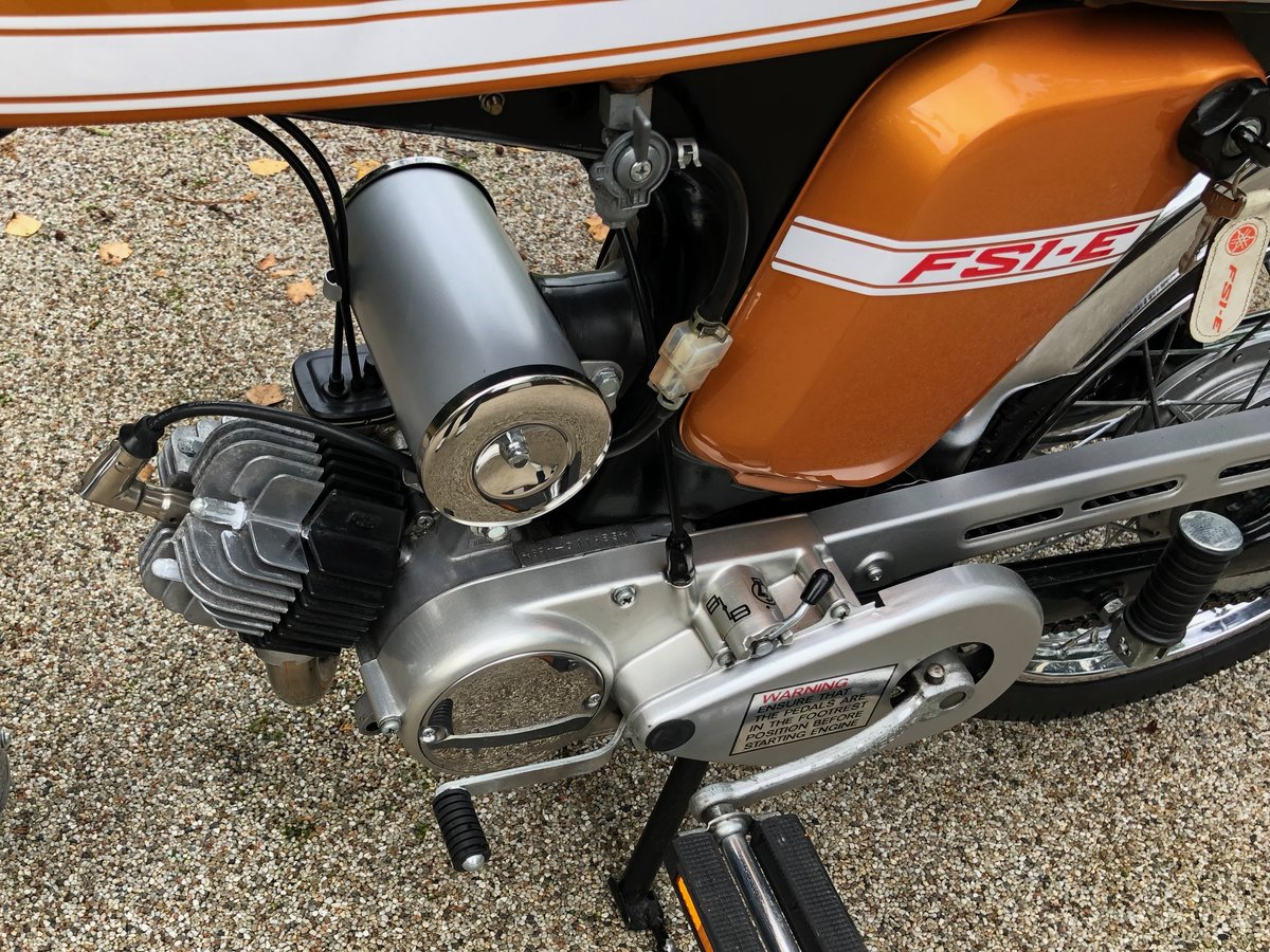 1973 FS1E Superb restored UK matching number bike SOLD (picture 3 of 6)