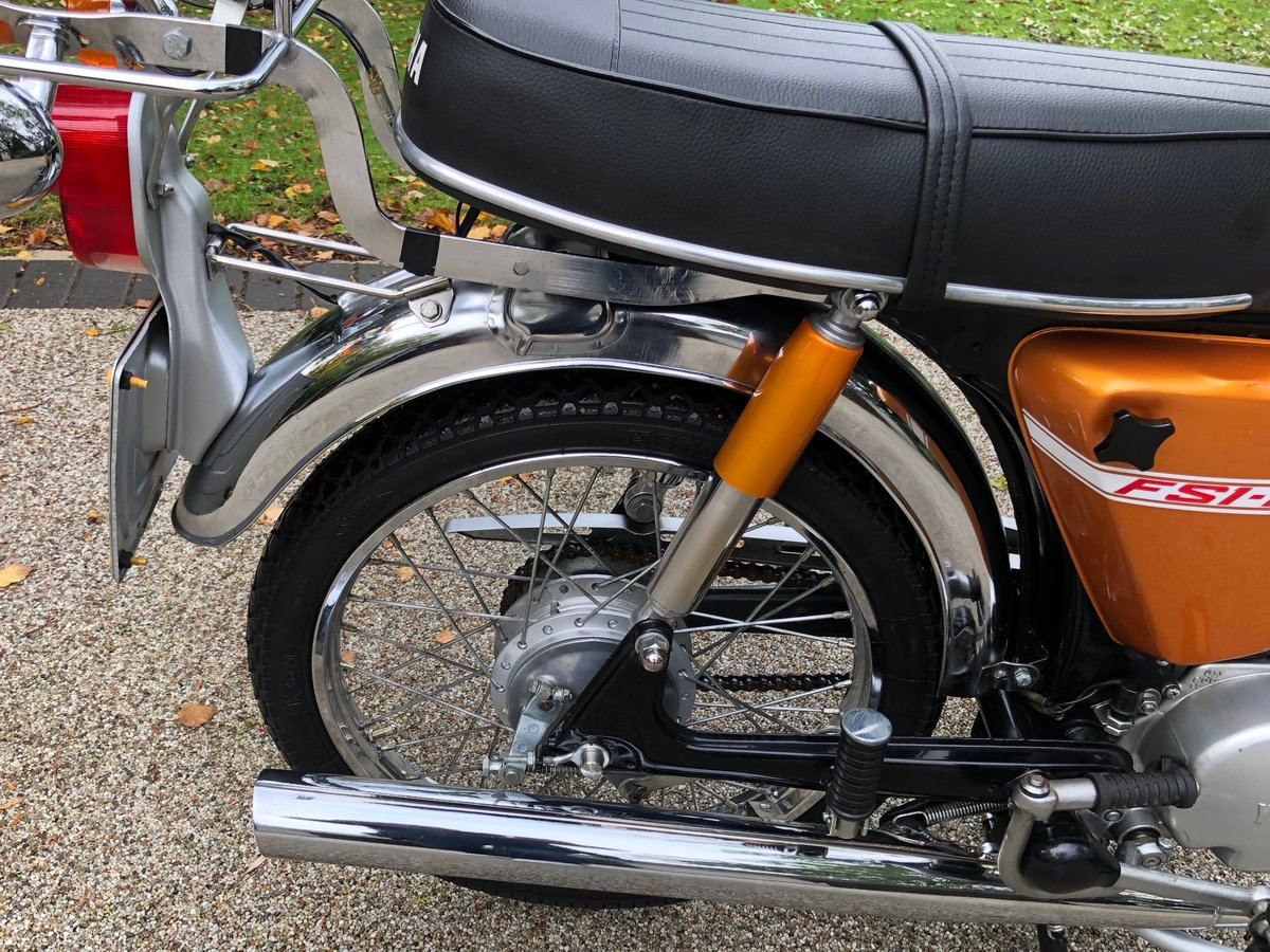 1973 FS1E Superb restored UK matching number bike SOLD (picture 5 of 6)