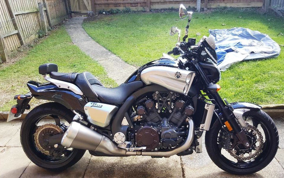 Yamaha V Max 1700 Custom 2010 805 Miles Extras  SOLD (picture 1 of 6)