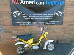 1975 YAMAHA CHAPPY LB80 YELLOW 3K! MOT AND TAX EXEMPT For Sale