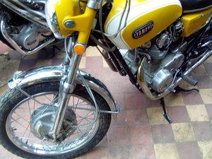 1971 yamaha xs1b motor cycle