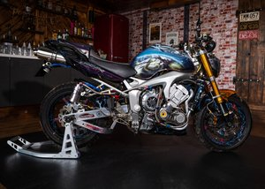 2004 Yamaha 600 Fazer Supercharged Judgement Day SOLD by Auction