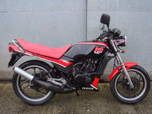 Yamaha RD125LC YPVS - 1986 - Low Mileage Bike SOLD