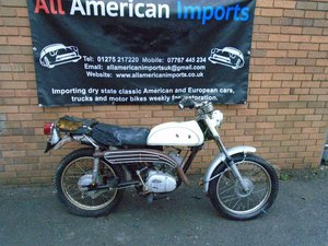 1969 YAMAHA AT1 MX DT 125 MOTORBIKE SOLD