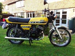 1977 rd400 d Genuine uk model fully restored For Sale