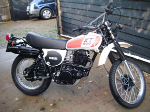 1978 Yamaha xt500 e For Sale