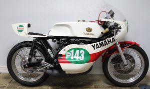 1973 Yamaha YDS 7 With a difference TD2 Racer Homage