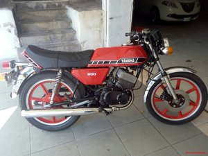 1978 RD 200 DX bike ready for use For Sale