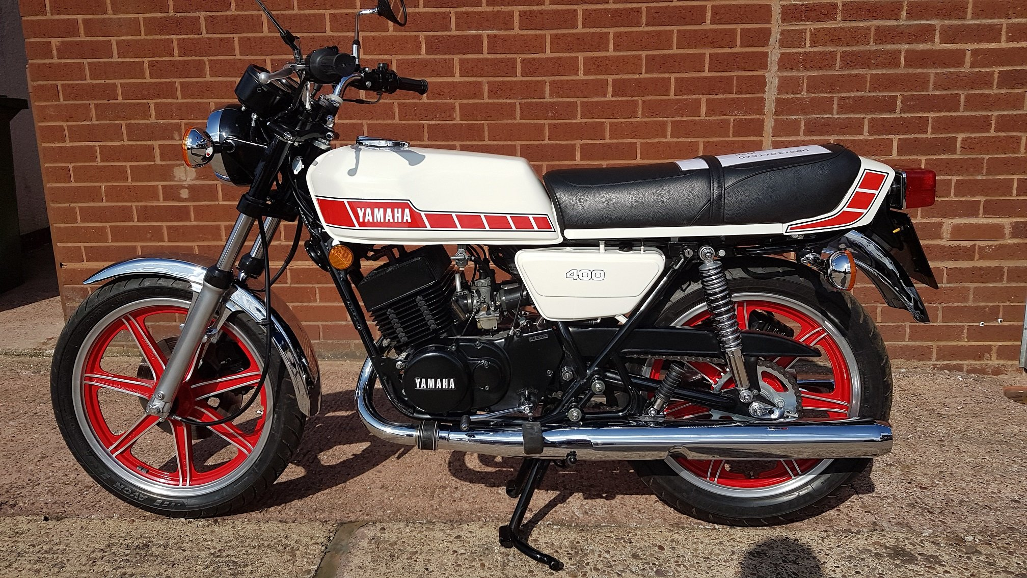 1980 Yamaha rd400f  For Sale (picture 1 of 6)