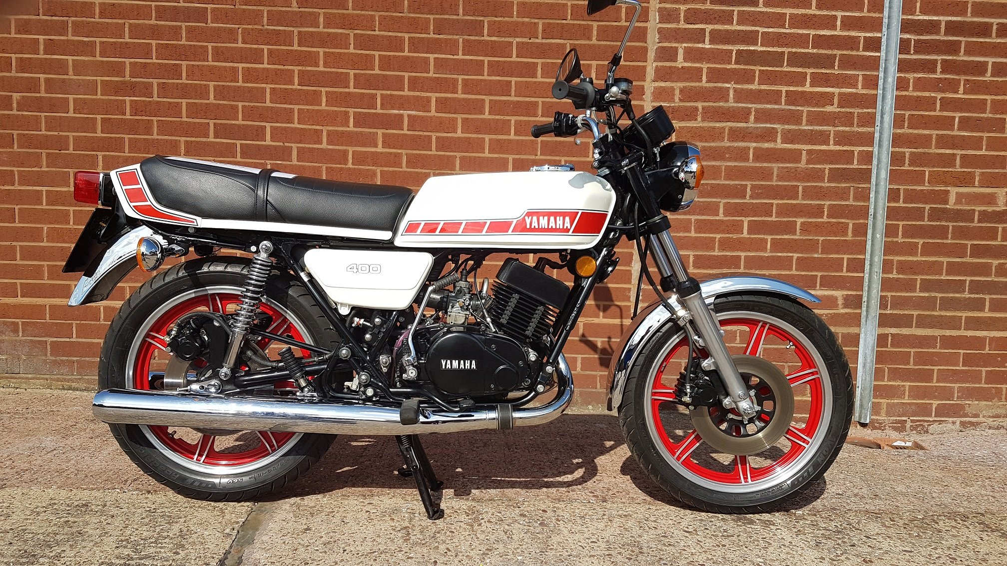 1980 Yamaha rd400f  For Sale (picture 2 of 6)