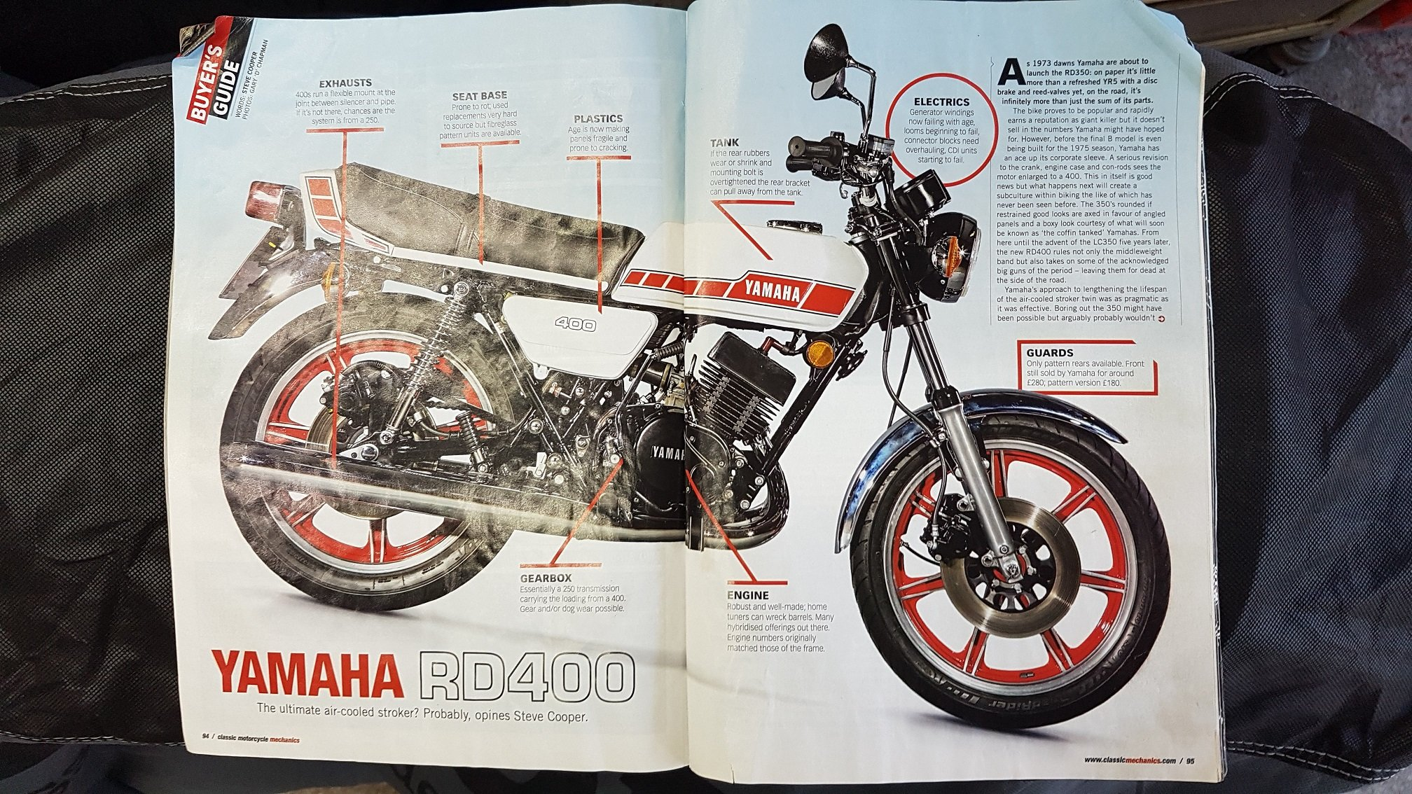 1980 Yamaha rd400f  For Sale (picture 3 of 6)