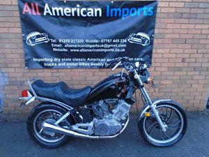 YAMAHA VX500 VIRAGO BIKE(1983) BLACK US IMPORT!