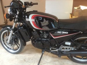 Yamaha RD350LC in Black other colours in stock