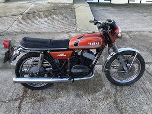 1975 Yamaha RD250B - Scarce Golden Bronze / Matching Numbers  SOLD