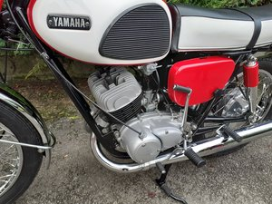 Yamaha YDS 3 1967  Fully restored