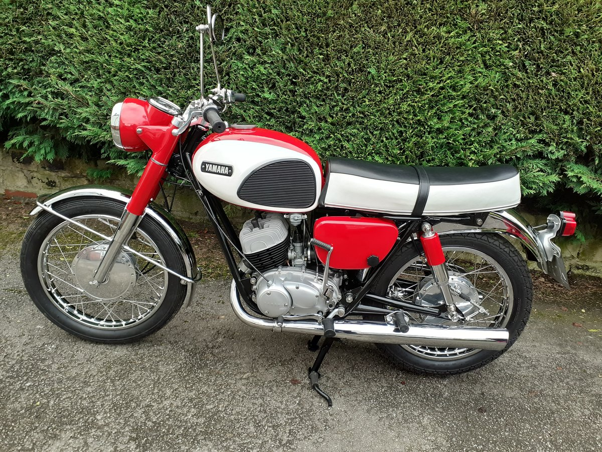 Yamaha YDS 3 1967  Fully restored  For Sale (picture 4 of 6)