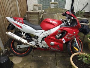2002 Yamaha Thundercat YZF600 R *NO MOT* LIGHT PROJECT