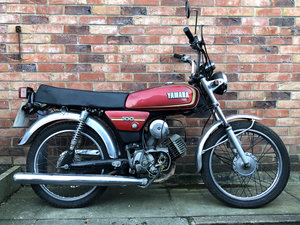 1989 Yamaha YB100 Motorcycle, 100cc in Auction For Sale by Auction
