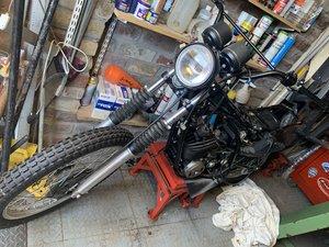 1978 dt250 all bits restored just needs rebuilding
