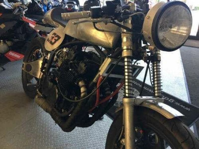 1989 Yamaha XJ600 Cafe racer For Sale (picture 4 of 6)