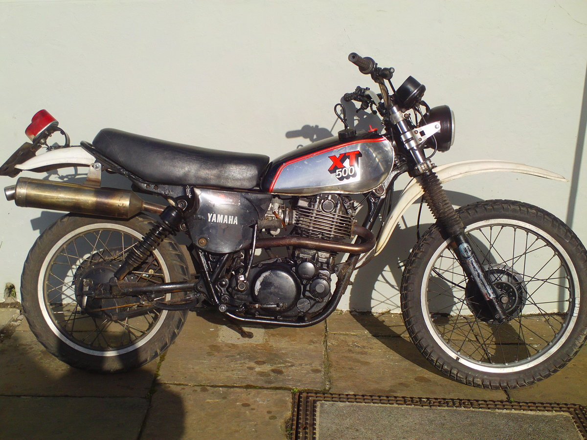 1980 YAMAHA XT500 SOLD (picture 1 of 6)