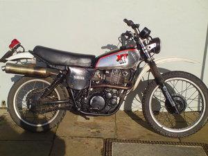 1980 YAMAHA XT500 SOLD