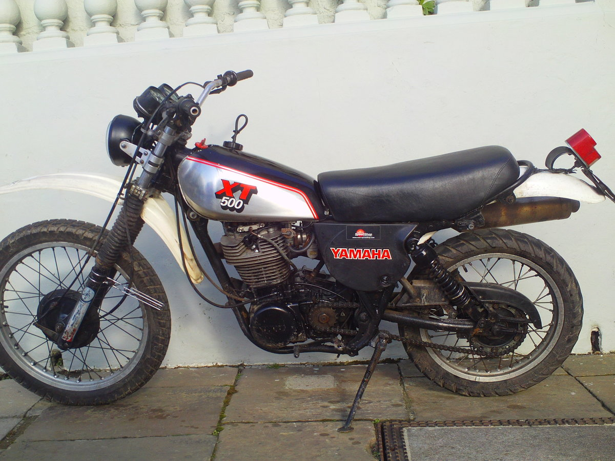 1980 YAMAHA XT500 SOLD (picture 3 of 6)
