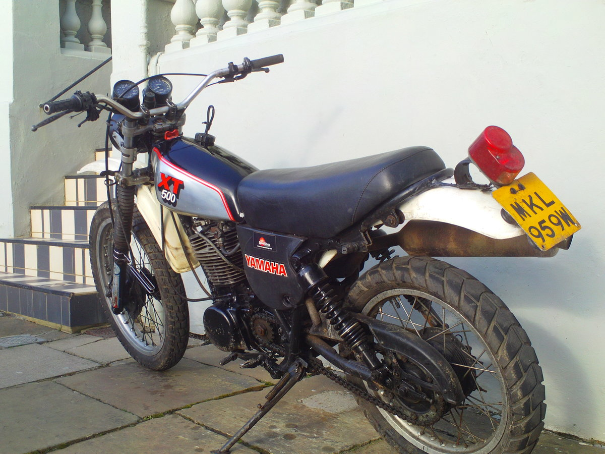 1980 YAMAHA XT500 SOLD (picture 4 of 6)